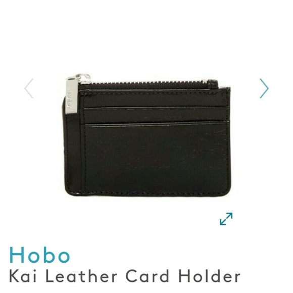san francisco ae157 3da77 Hobo Kai Leather Card Zip Wallet
